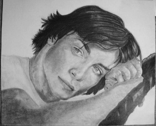 Tom Welling par drawingmydream